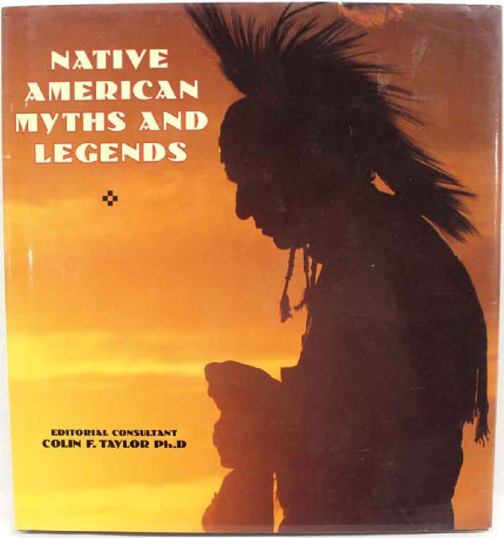 Native American Myths and Legends by Taylor, Book