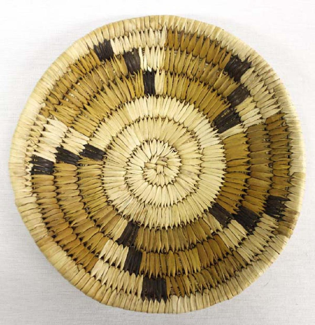 Native American Hopi Basketry Tray