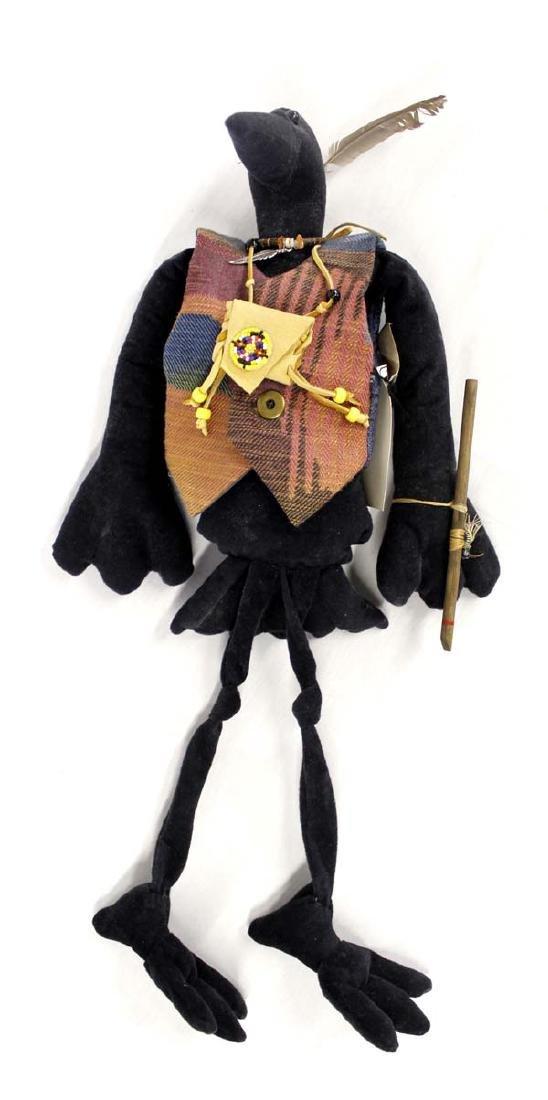 Animal Tracker Cloth Crow Doll