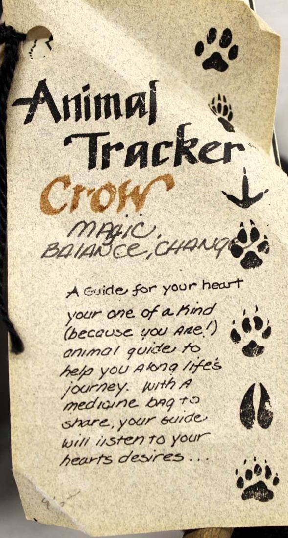 Animal Tracker Cloth Crow Doll - 3