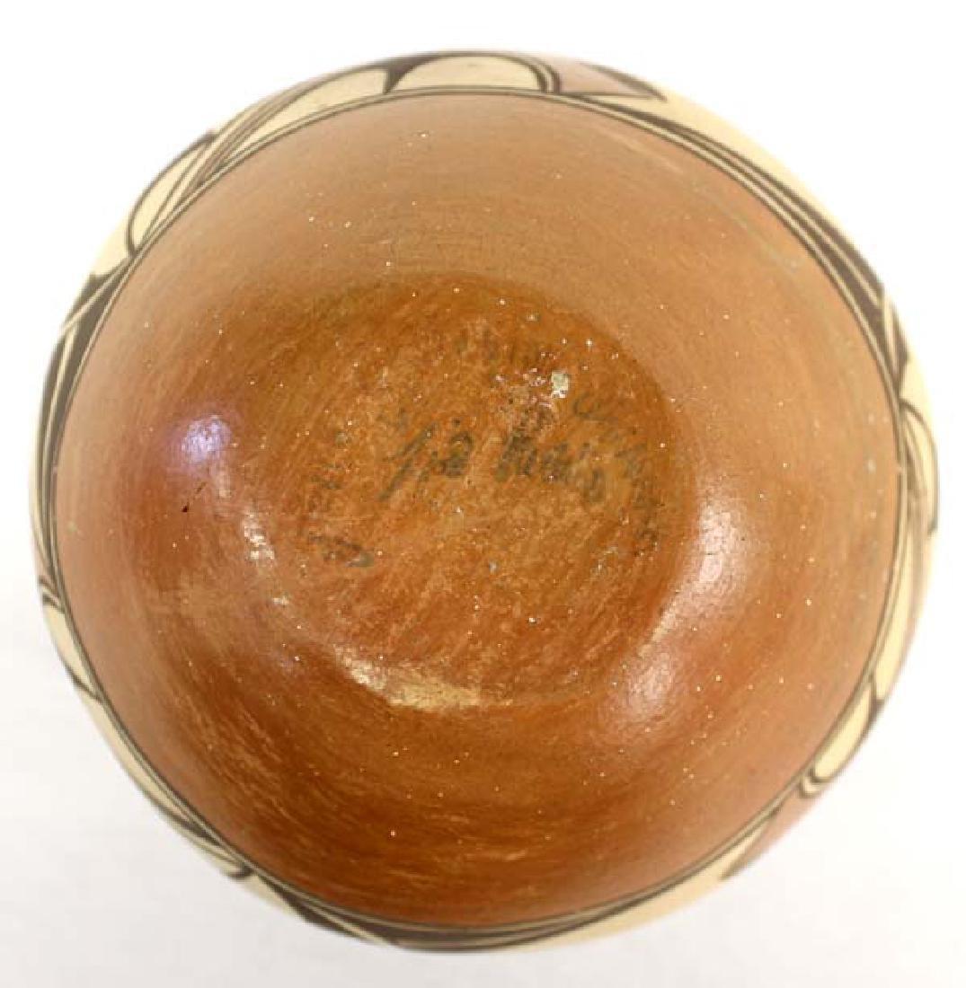 Vintage Zia Pueblo Pottery Jar by G. Chinana - 3