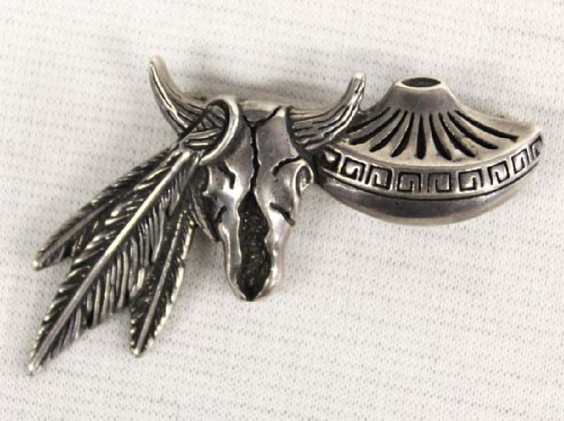 Southwestern Sterling Silver Pin