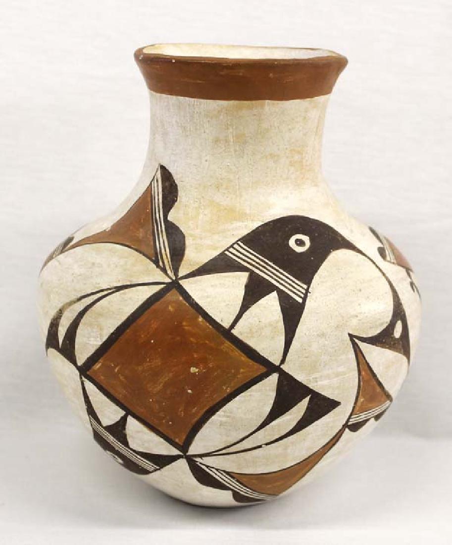 Vintage Native American Acoma Pueblo Pottery Jar