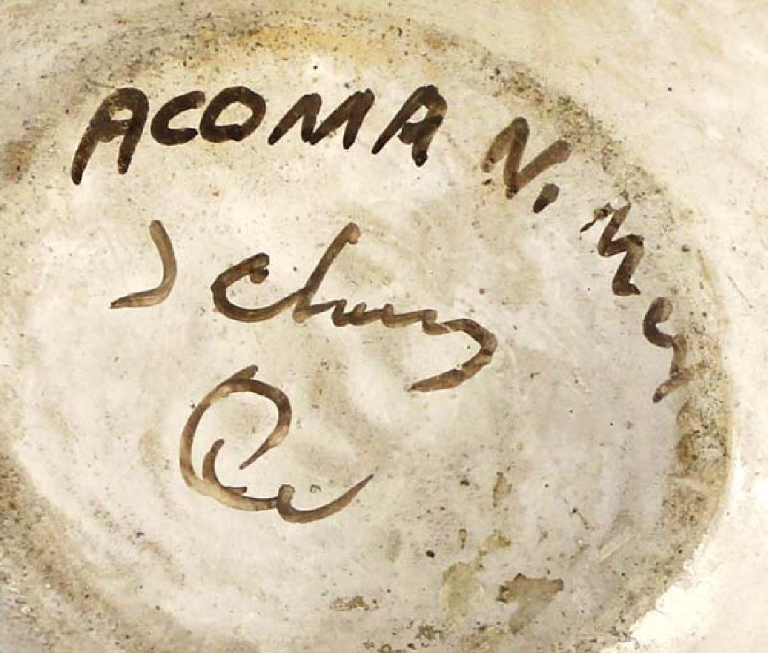 Vintage Native American Acoma Pueblo Pottery Jar - 4
