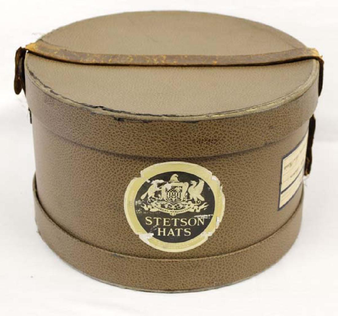 732992de17771d Vintage 1930 Stetson Hat Box with Leather Strap - Apr 08, 2017 | Desert  West Auction in NM