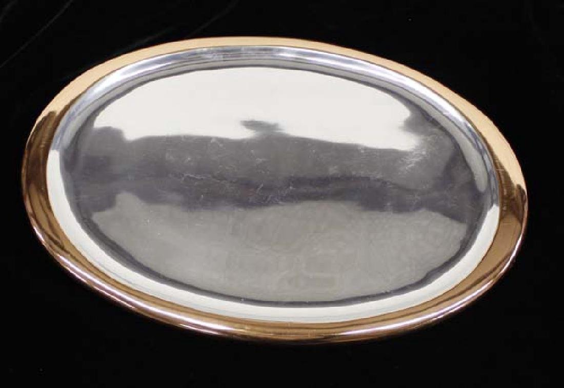 Beautiful Nambe Classic Copper Oval Platter