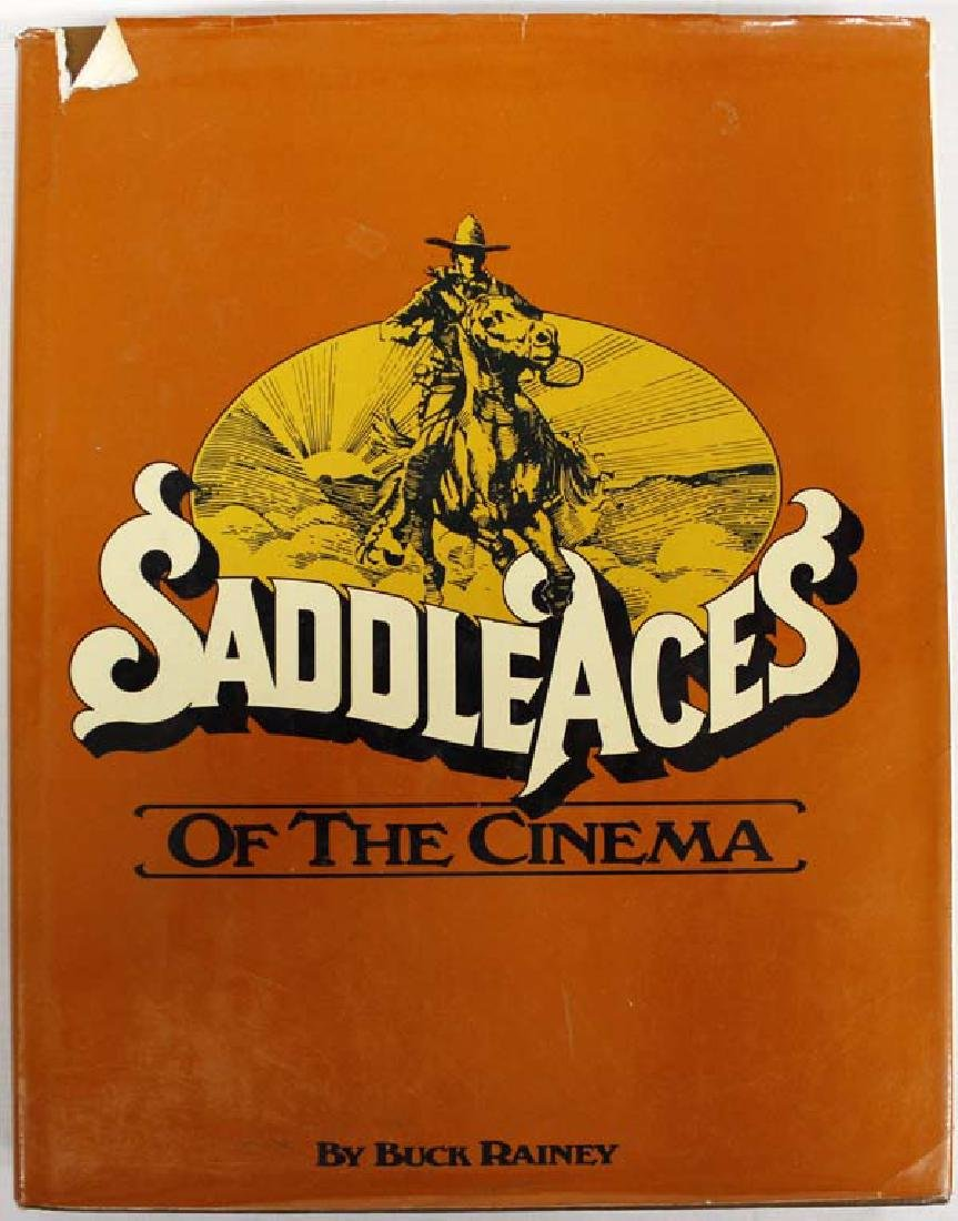 Saddle Aces of the Cinema Book by Buck Rainey
