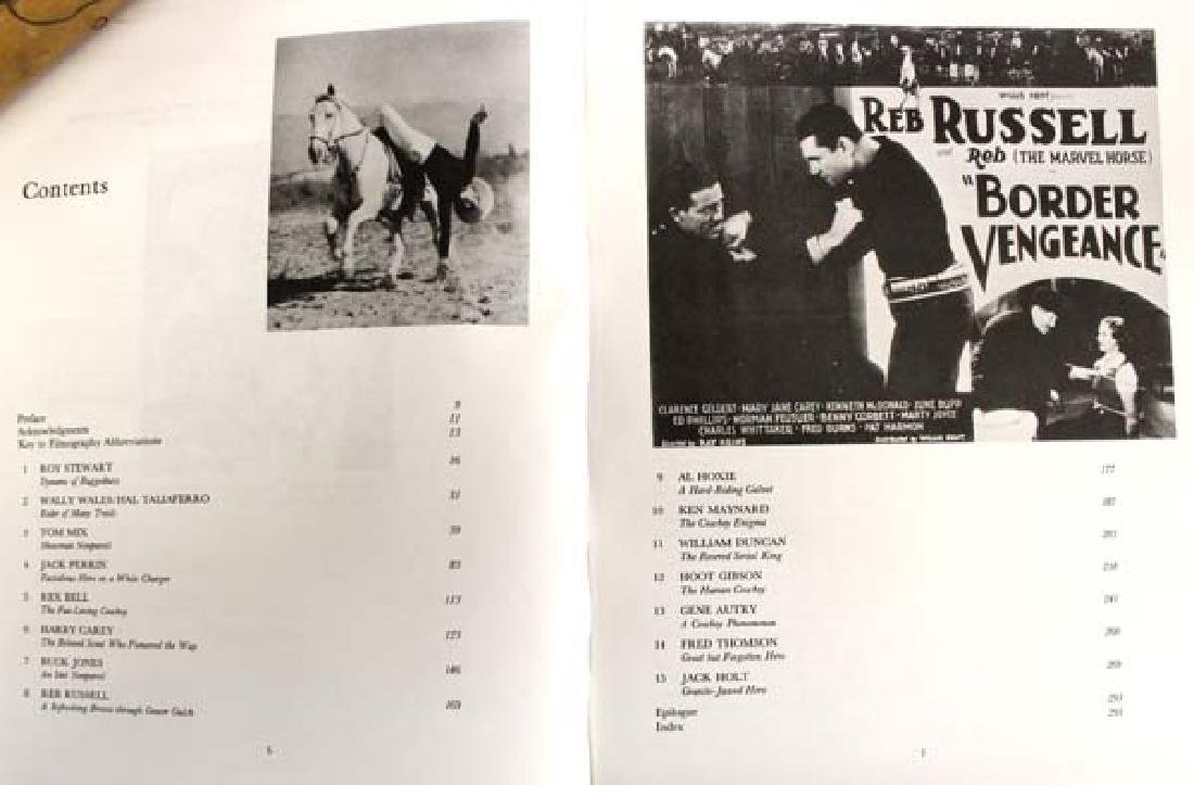 Saddle Aces of the Cinema Book by Buck Rainey - 4