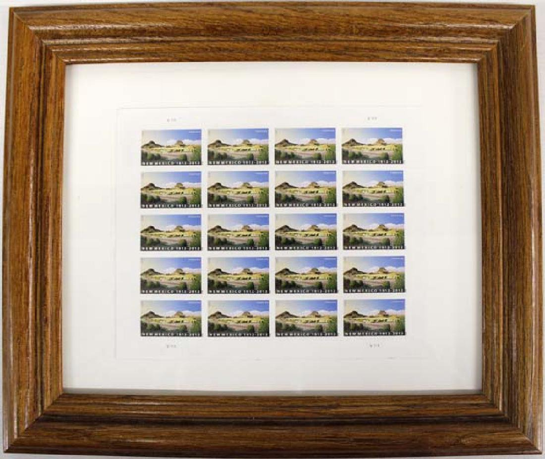Special Limited Ed. New Mexico Centennial Stamps