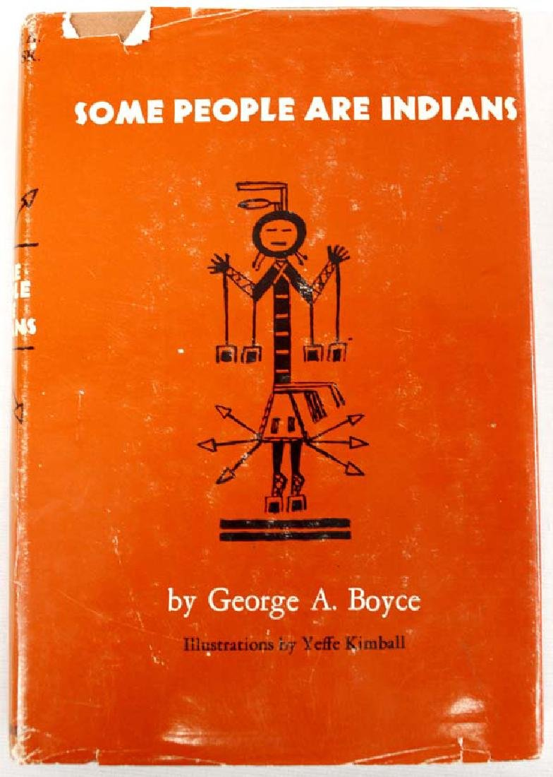 Some People are Indians by George A. Boyce, Book