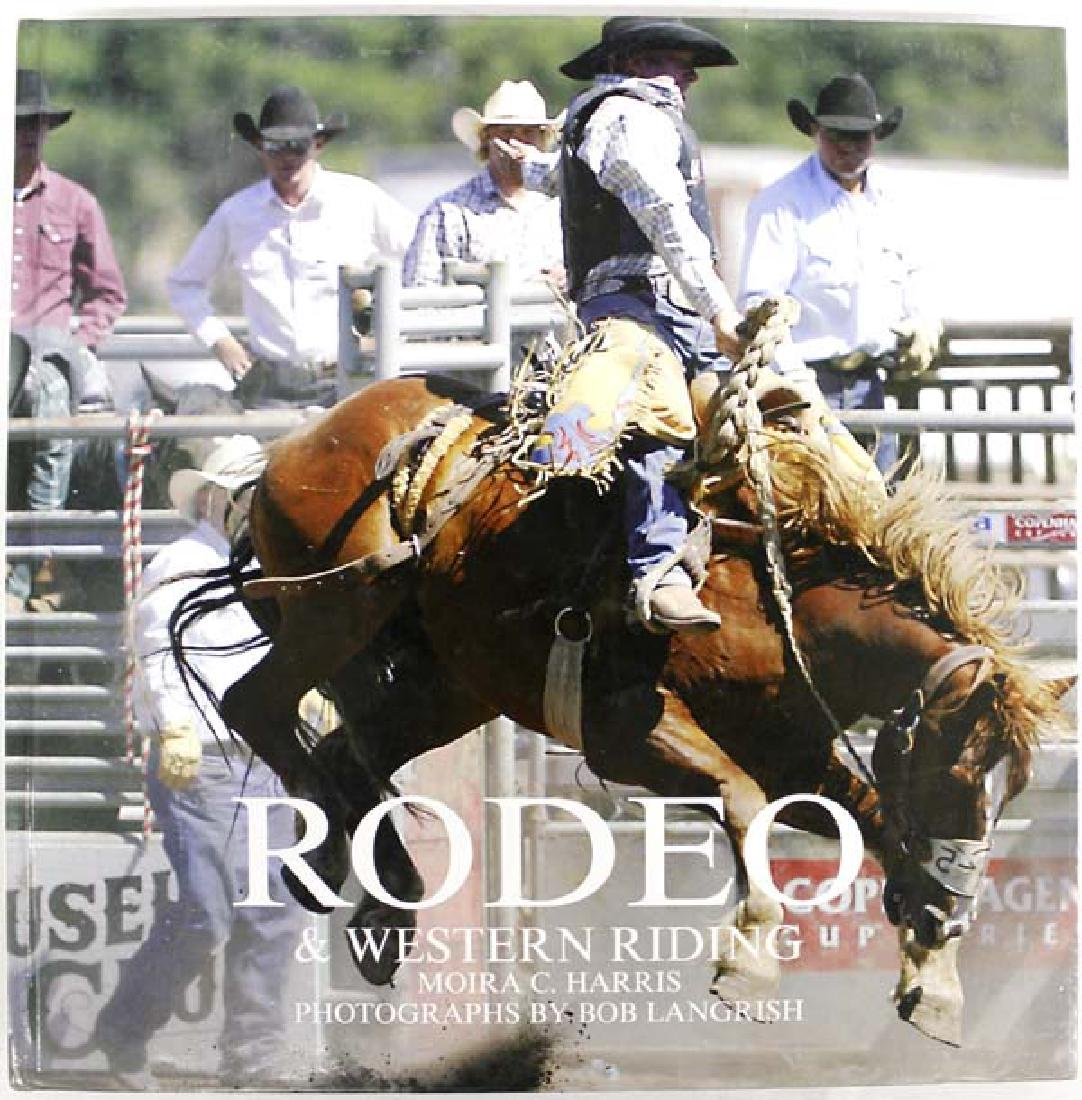 Rodeo & Western Riding by Moira C. Harris, Book