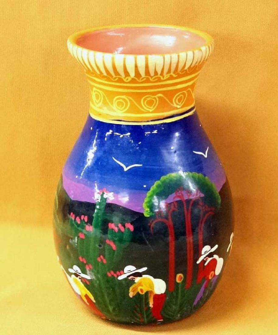 Mexican Vase 8in High SH $20