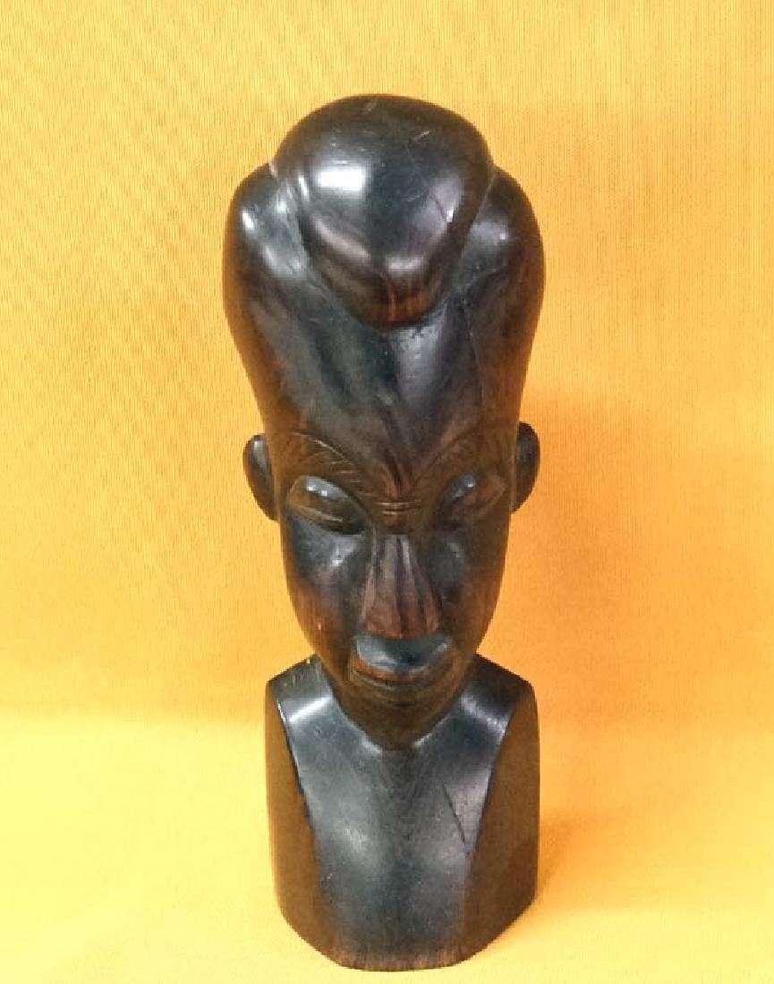 African Carved Wood Statue 8in High SH $15