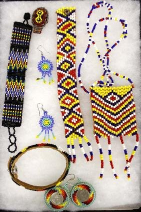 Native American Plains Indian Beadwork