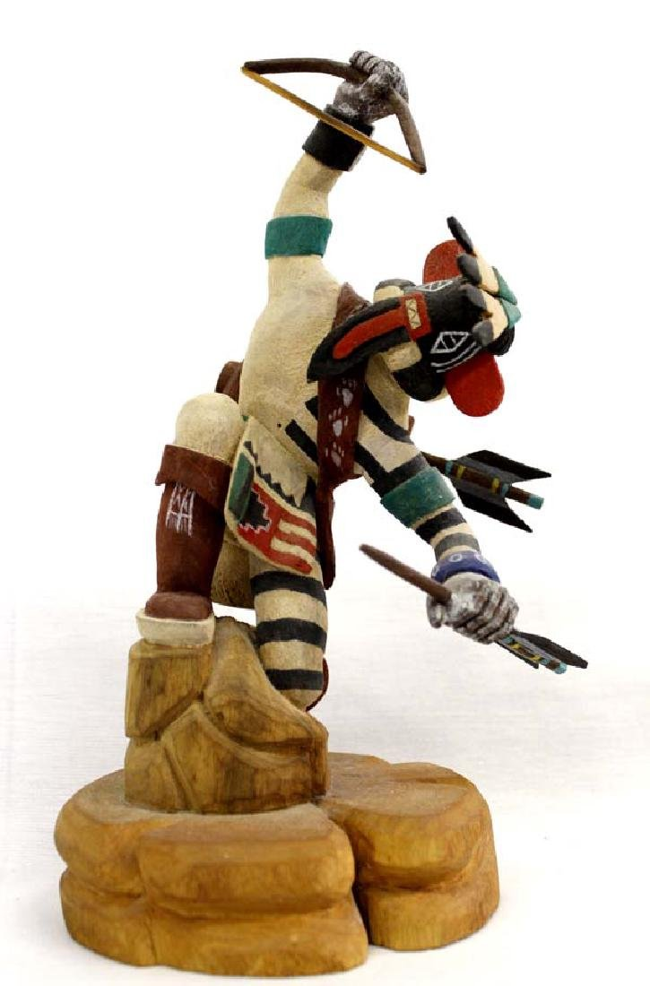 Laguna Artist Carved Wood Kachina by Ray Jose