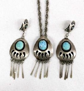 Native American Navajo Sterling Turquoise Jewelry