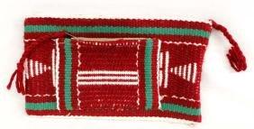 Native American Navajo Woven Wool Clutch Purse