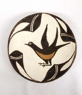 Vintage Native American Acoma Pottery Bowl