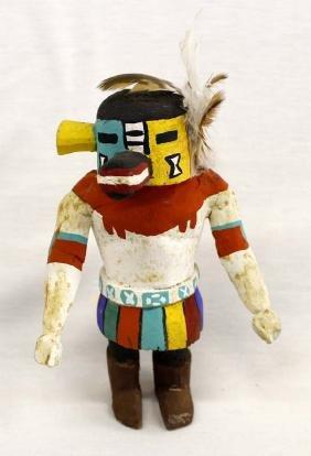 Vintage Native American Zuni Carved Wood Kachina