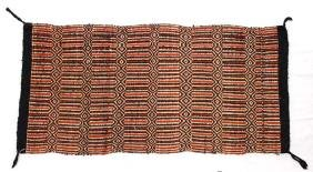 Native American Navajo Double Weave Saddle Blanket