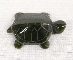 Canadian Carved Jade Turtle Fetish