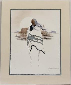 1989 Signed and Numbered Print by John A. White