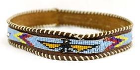 Beaded Thunderbird Cowboy Hatband