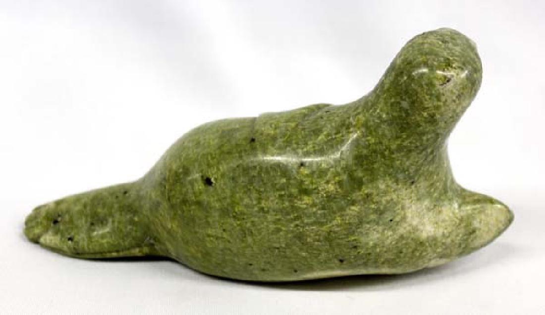 North West Coast Alaskan Jade Seal - 2