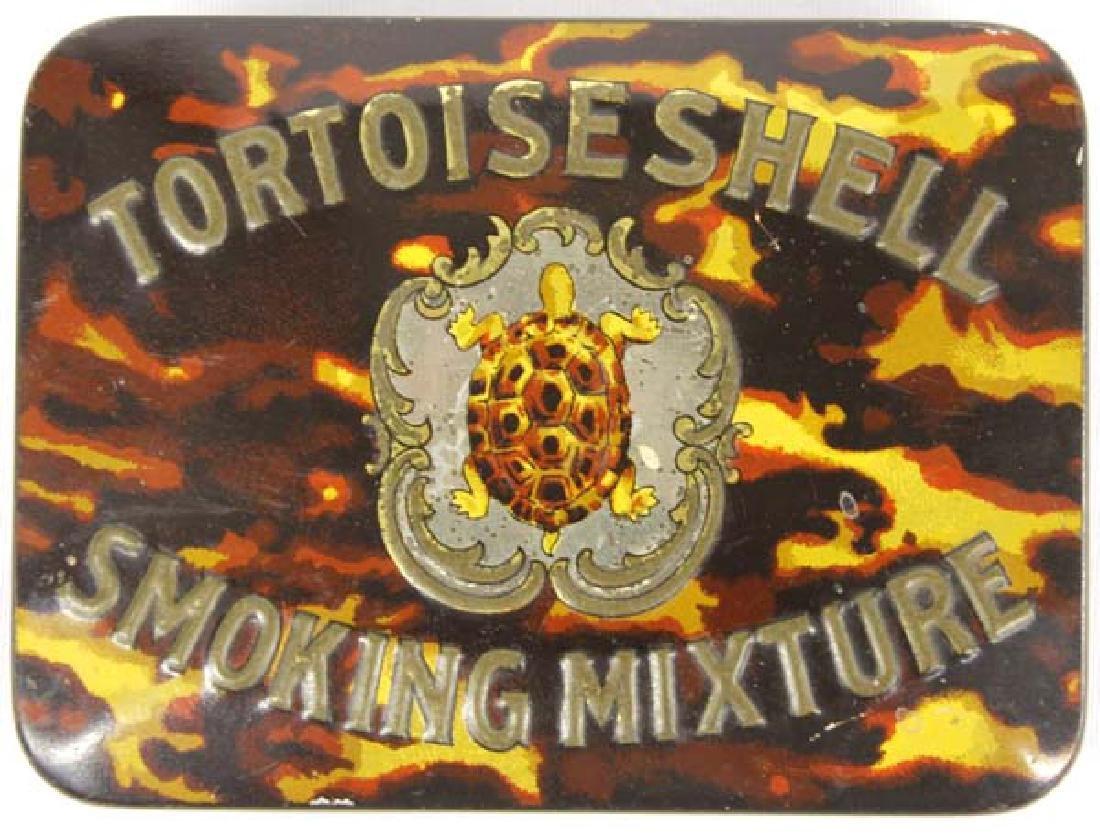 Hummert Estate Imperial Tortoiseshell Tobacco Tin