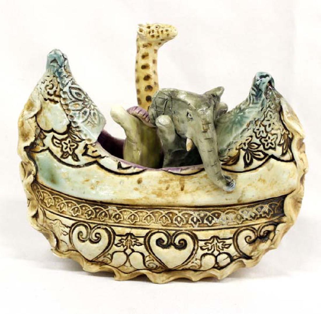 Hummert Estate Ceramic  Noah's Ark by Caroline Douglas