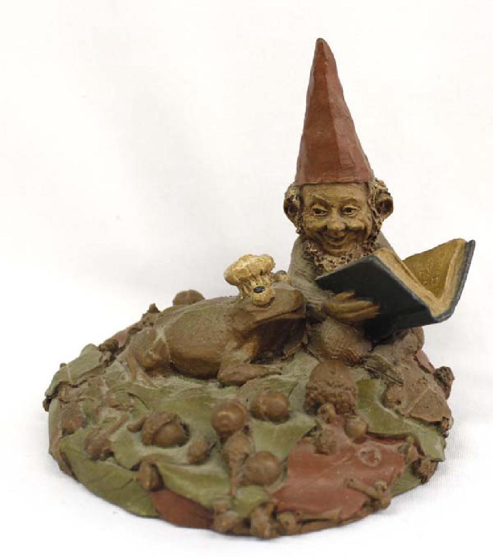 Estate 1997 Tom Clark Gnome ''Henson'' reading to Frog