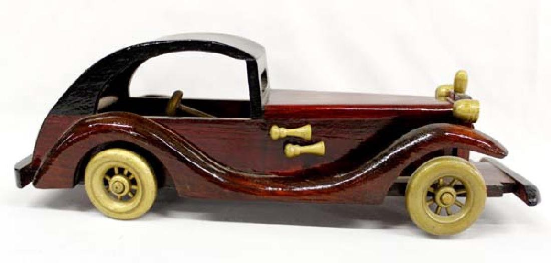 Hummert Estate Hand Crafted Wood Collector Car