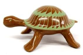 Mata Ortiz Pottery Turtle by Guillermina Concho