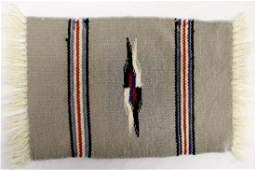 Ortega's 100 Percent Wool Fringed Table Mat