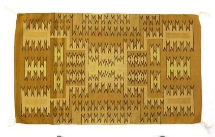 Native American Navajo Chinle Wool Textile Rug
