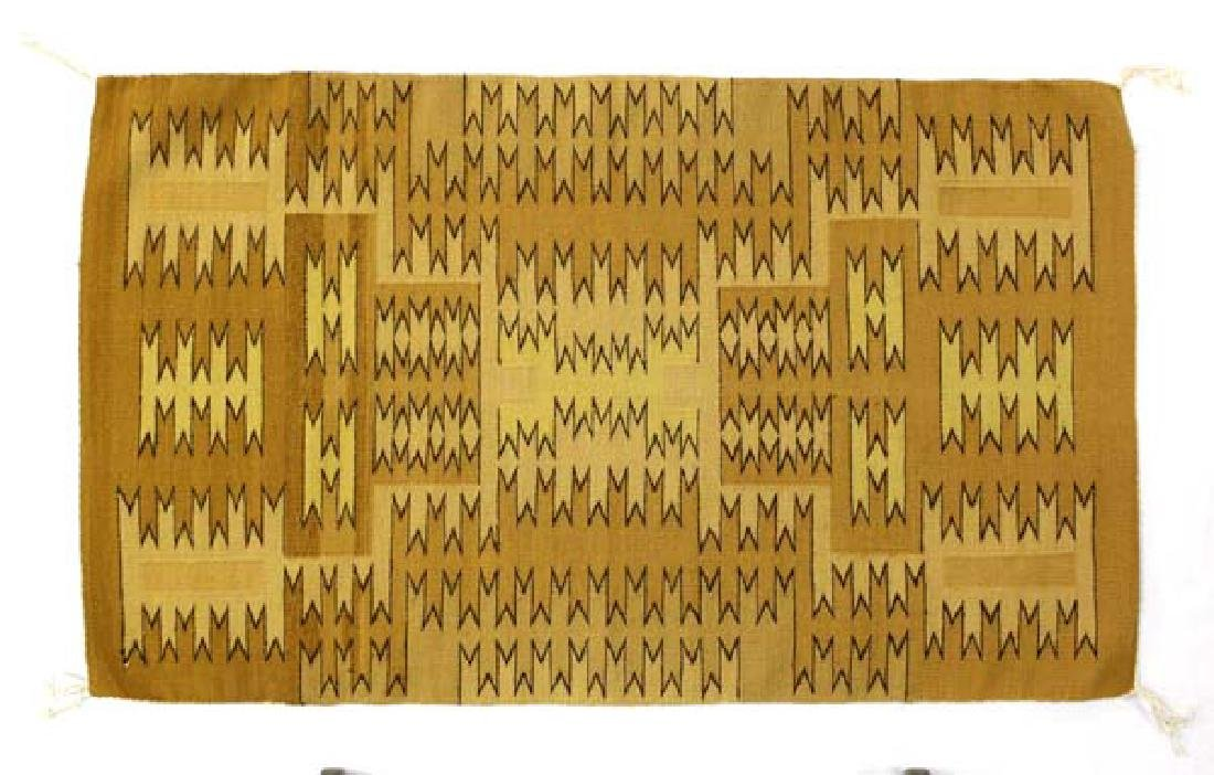 Native American Navajo Chinle Wool Textile Rug