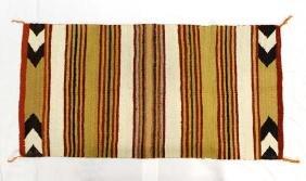 Navajo Large All Natural Wool Textile Rug