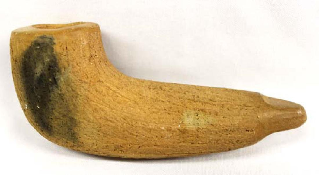 Native American Clay Pipe