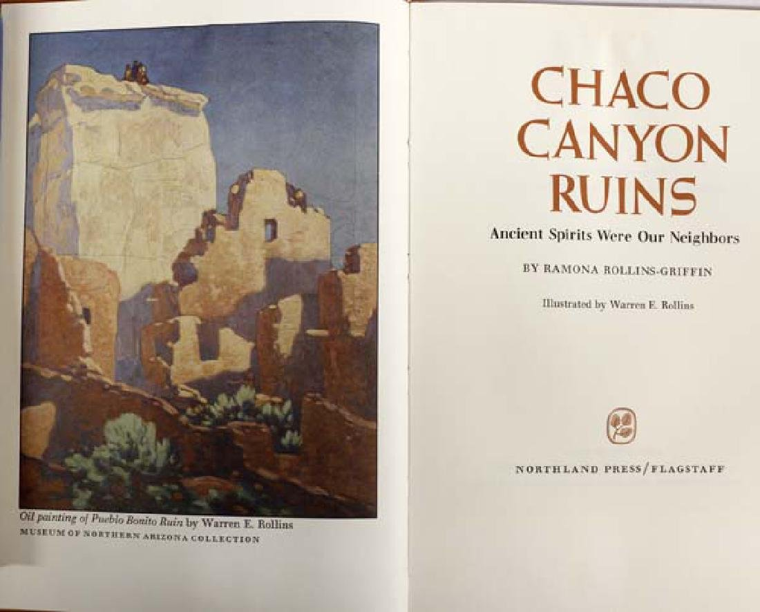 Chaco Canyon Ruins by Ramona Rollins-Griffin