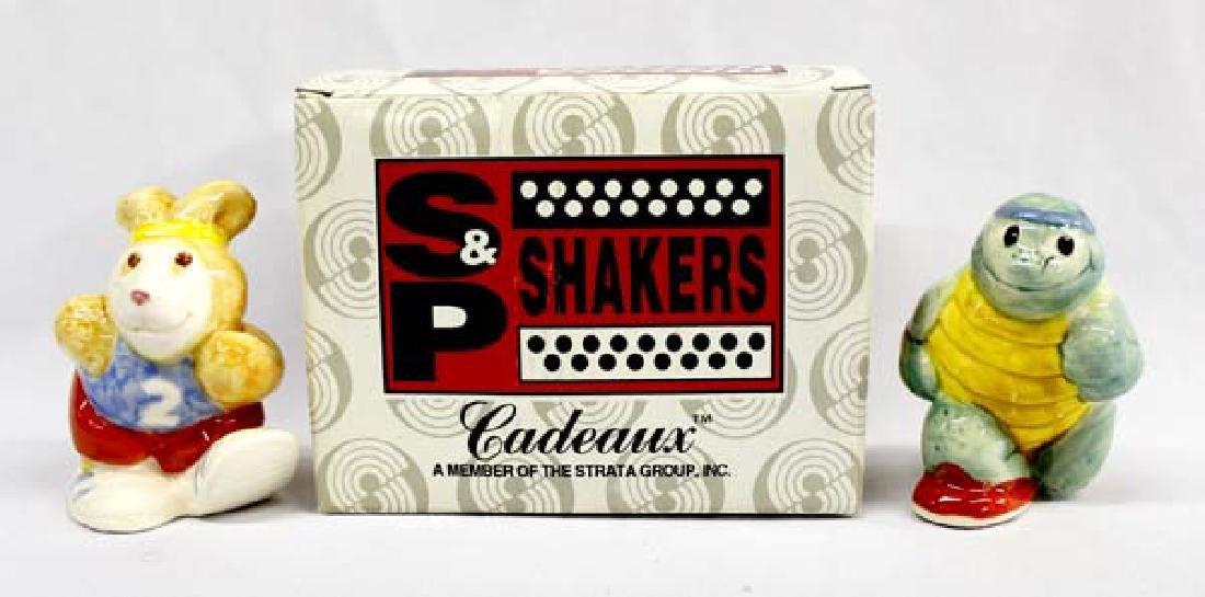 Philipines Tortoise & Hare Salt & Pepper Shakers