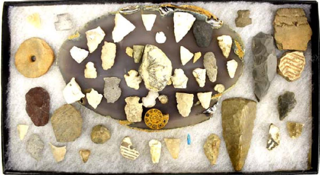 Collection of New Mexico Prehistoric Artifacts