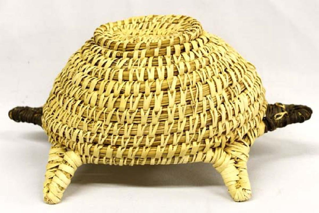 Native American Tohono O'odham Basketry Turtle