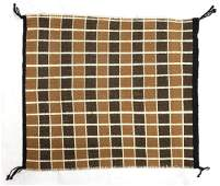 Native American Navajo Double Sided Wool Rug
