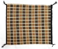 Native American Navajo Double Sided Wool Rug