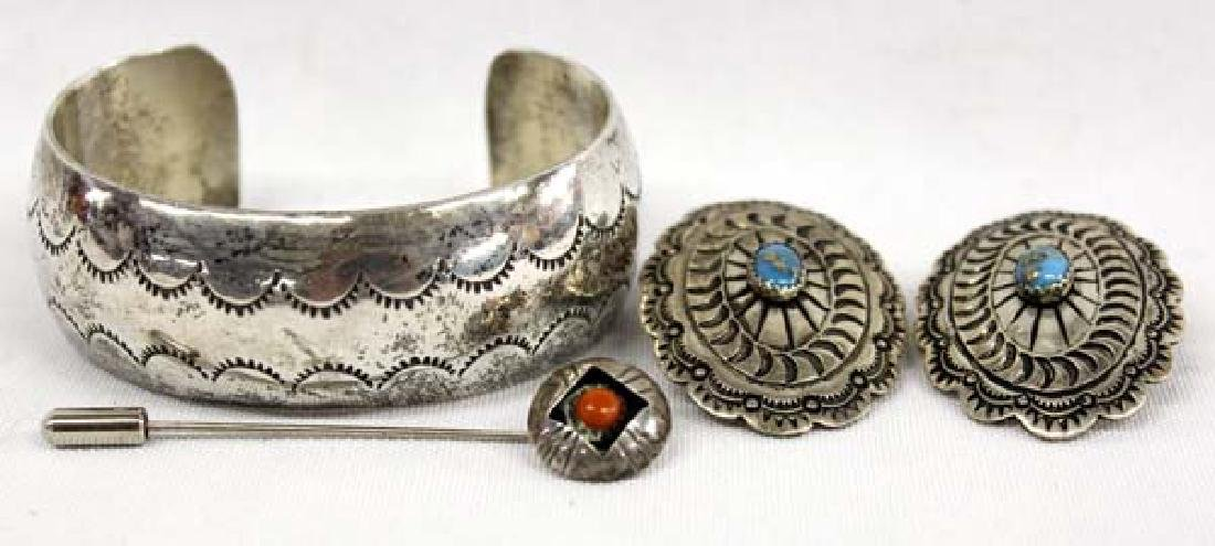 3 Pieces of Native American & Mexican Jewelry