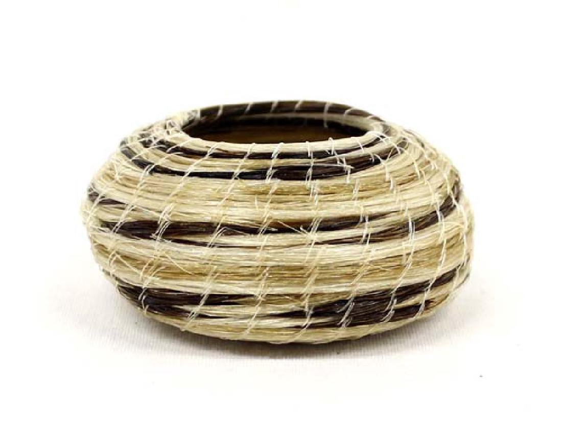Paiute Horsehair Basket by Rosemary Rogers-de Soto
