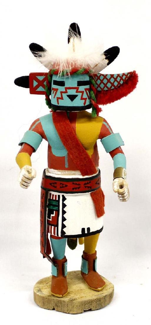 1981 Hopi Konin Uncle Kachina by Vaughn Saufkie