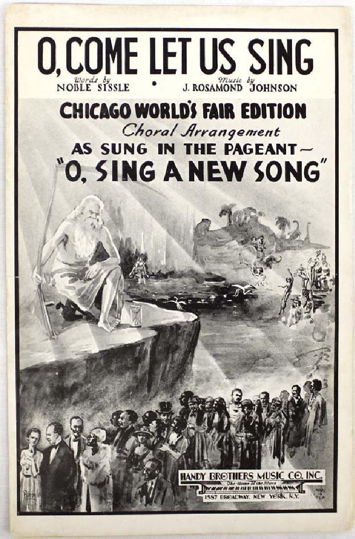 1935 Chicago World's Fair Edition Music