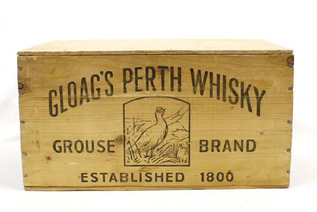 Estate Wooden Gloags Perth Whisky Box