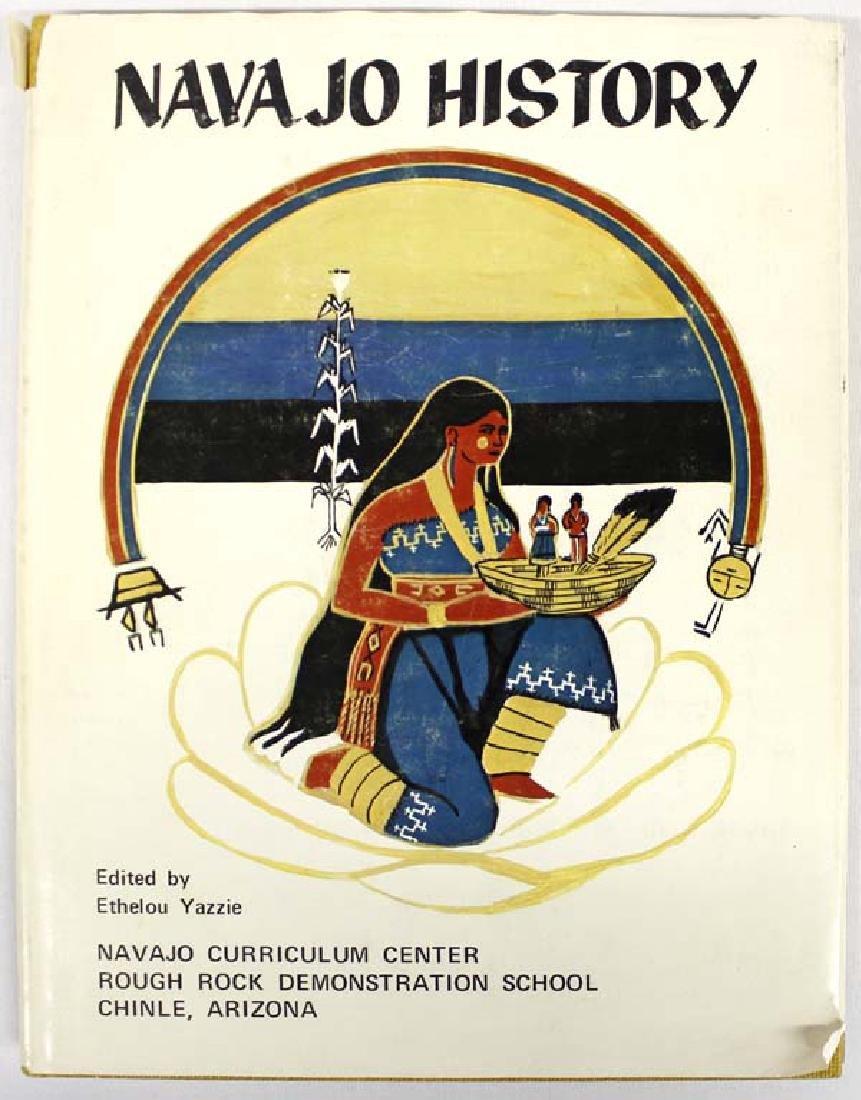 Navajo History Volume 1 by Ethelou Yazzie